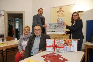ZONTA Club Wismar spendet für Mädchen in Albanien
