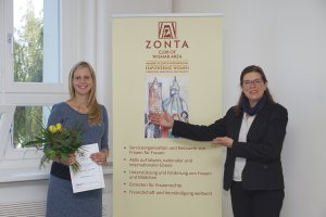 ZONTA Technikerinnen-Preis geht an Wismarer Absolventin